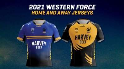 2021 Western Force Jersey Reveal